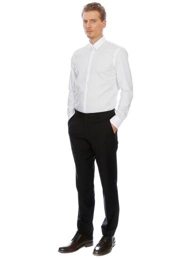 Fabrika Klasik Uzun Kollu Gömlek Beyaz